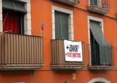 Moció CUP contra pisos turístics diputació de Girona